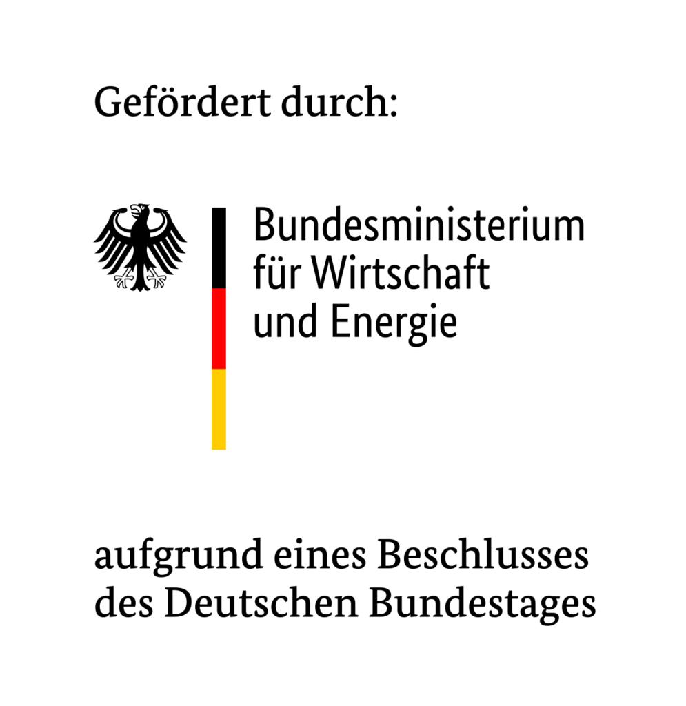 Logo Bundesministerium für Wirtschaft und Energie - OFM Medical Maske